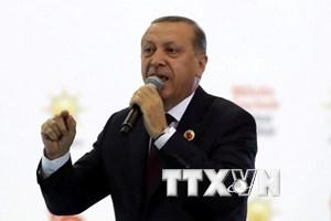 Tổng thống Thổ Nhĩ Kỳ kêu gọi can thiệp vào cuộc bầu cử tại Đức