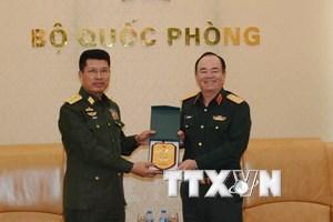 Mong hợp tác quốc phòng Myanmar-Việt Nam ngày càng đi vào chiều sâu
