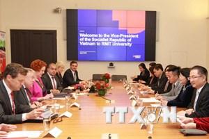 Phó Chủ tịch nước thăm RMIT, giao lưu sinh viên Việt tại Australia