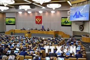 Hạ viện Nga thông qua dự luật đáp trả biện pháp trừng phạt phương Tây