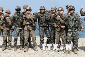 Triều Tiên hối thúc Mỹ chấm dứt tập trận chung với Hàn Quốc