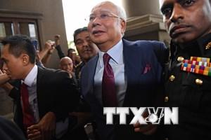 Cựu Thủ tướng Malaysia Razak ra tòa, đối mặt với tội danh tham nhũng