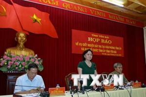 [Video] Họp báo thông tin về vụ sát hại lãnh đạo cao cấp tỉnh Yên Bái