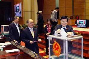 Quốc hội bầu bổ sung lãnh đạo các cơ quan của quốc hội