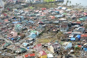 Số liệu mới nhất về hậu quả của bão Haiyan
