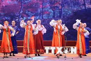 """Khai mạc Lễ hội Văn hóa Nga """"Cảm nhận nước Nga"""" ở Hà Nội"""