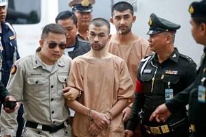 Hai nghi phạm đánh bom ở Bangkok phủ nhận các cáo buộc