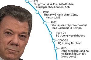 [Infographics] Tổng thống Colombia được nhận giải Nobel Hòa bình