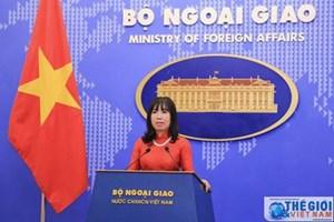 Người phát ngôn Bộ Ngoại giao nói về vụ việc tại xã Đồng Tâm