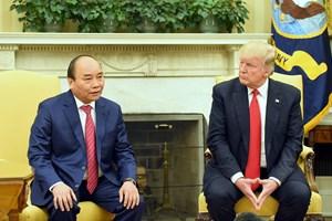 [Video] Thủ tướng Nguyễn Xuân Phúc và Tổng thống Trump gặp gỡ báo chí