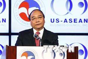 Thủ tướng Nguyễn Xuân Phúc trao đổi với các học giả Hoa Kỳ