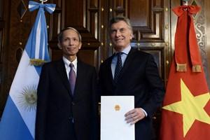 Tổng thống Argentina M.Macri đánh giá cao thành tựu kinh tế Việt Nam