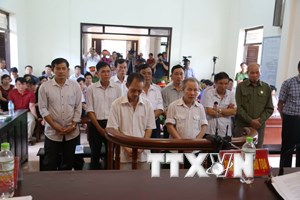 Tuyên án 14 bị cáo trong vụ vi phạm trong quản lý đất đai ở Đồng Tâm