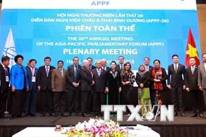 """Hội nghị APPF-26: Hướng tới """"Ngôi nhà chung hài hòa và năng động"""""""