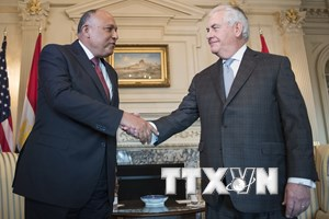 Ai Cập và Mỹ thảo luận cách giải quyết khủng hoảng với Qatar