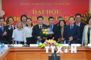 Ông Nguyễn Đức Lợi giữ chức Chủ tịch Hội Hữu nghị Việt Nam-Tây Ban Nha
