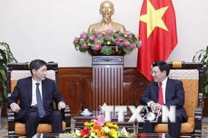 Việt Nam coi trọng phát triển quan hệ đối tác chiến lược với Hàn Quốc