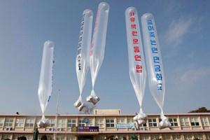 Cảnh sát Hàn Quốc ngăn chặn việc rải truyền đơn chống Bình Nhưỡng