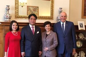 Toàn quyền New Zealand ủng hộ hợp tác phát triển bền vững với Việt Nam
