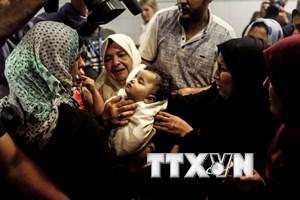 UNICEF cảnh báo tình trạng thảm họa nhân đạo với trẻ em tại Gaza