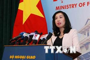 Yêu cầu Trung Quốc chấm dứt cho máy bay ném bom ra Hoàng Sa