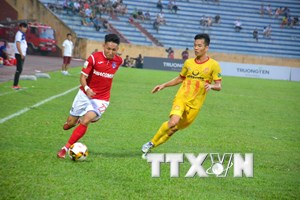 V-League: Nam Định bị Than Quảng Ninh cầm hòa 1-1 trên sân nhà
