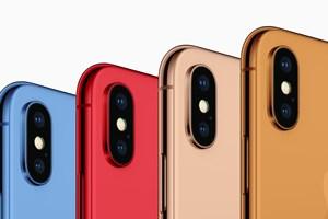"""iPhone 2018 sẽ có các gam màu """"nóng"""" tươi trẻ: xanh, cam, vàng?"""
