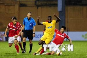 FLC Thanh Hóa và Than Quảng Ninh níu chân nhau ở vòng 19 V-League