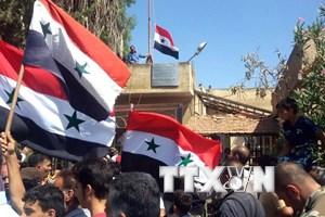 Tấn công lớn phía Tây Nam, quân đội Syria áp sát vùng Golan với Israel