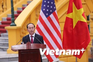 [Video] Chủ tịch nước phát biểu sau hội đàm với Tổng thống Hoa Kỳ
