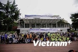 Giải thể thao tại Hàn Quốc chào mừng 40 năm thống nhất đất nước