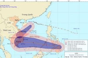 Bão số 12 chưa tan, áp thấp nhiệt đới mới xuất hiện