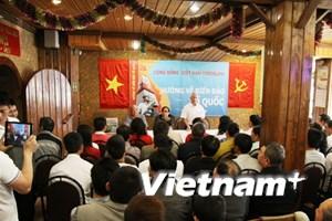 Người Việt tại Yaroslav míttinh hướng về biển đảo Tổ quốc
