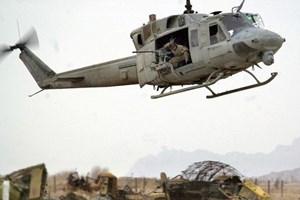 Máy bay trực thăng của quân đội Mỹ bị mất tích ở Nepal