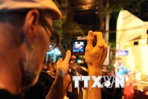 Thu hút gần 3,8 triệu lượt khách quốc tế đến Hà Nội năm 2016