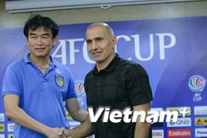 Tứ kết AFC Cup: Hà Nội T&T gặp đối thủ cực mạnh từ Trung Đông