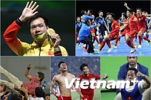 [Photo] Thể thao Việt Nam thăng hoa, đầy xúc cảm trong năm Bính Thân