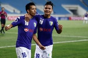 """""""Bão chấn thương"""" gây ảnh hưởng tới phong độ của Hà Nội FC"""