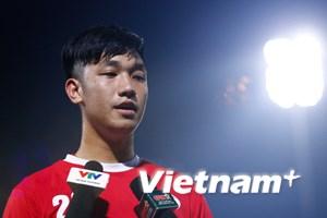 Trọng Đại xác nhận chấn thương không ảnh hưởng tới U20 World Cup