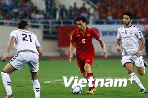 [Photo] Công Phượng bị thay sớm, tuyển Việt Nam vẫn làm nên lịch sử