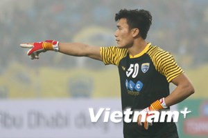 Bùi Tiến Dũng tỏa sáng trong chiến thắng của Thanh Hóa ở châu Á