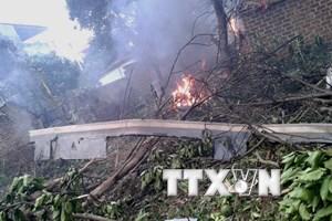 Chủ tịch UBND Hà Nội thăm các chiến sỹ trong vụ rơi máy bay