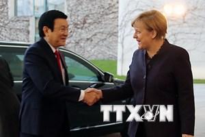 Việt Nam-Đức phấn đấu đưa kim ngạch thương mại lên 20 tỷ USD