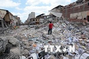 Ecuador lại rung chuyển vì trận động đất mạnh 6 độ Richter
