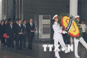 Toàn cảnh lễ tang 9 liệt sỹ phi hành đoàn máy bay CASA-212
