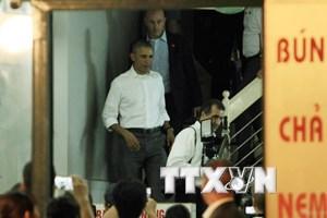 Màn thưởng thức bún chả của ông Obama sắp lên sóng truyền hình Mỹ