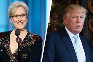 Donald Trump chỉ trích Meryl Streep vì bài phát biểu tại Quả cầu vàng