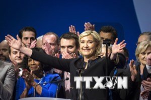 """Cơ quan Công tố Paris khám xét trụ sở đảng cực hữu """"Mặt trận Quốc gia"""""""