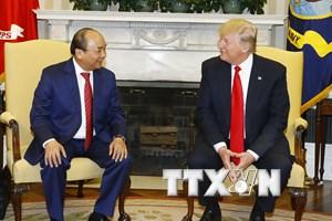 Tổng thống Trump đăng video chào đón Thủ tướng Nguyễn Xuân Phúc