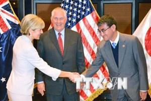 Nhật Bản-Mỹ-Australia hối thúc giải quyết hòa bình vấn đề biển Đông